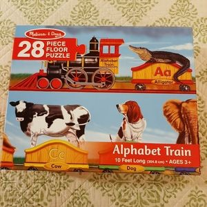 Melissa & Doug alphabet 28 piece floor puzzle
